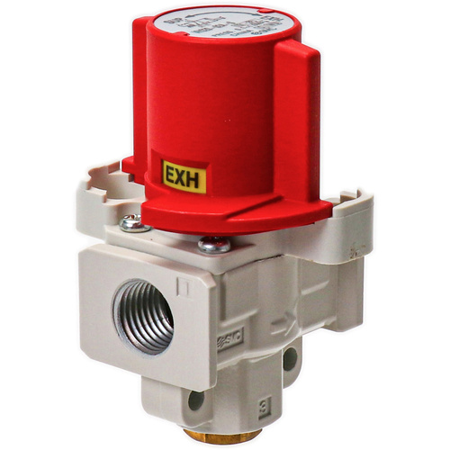 Lockable Dump Valve 3/2 with 1/4 ports.